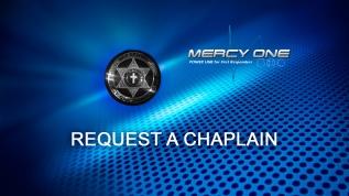 REQUEST A CHAPLAIN
